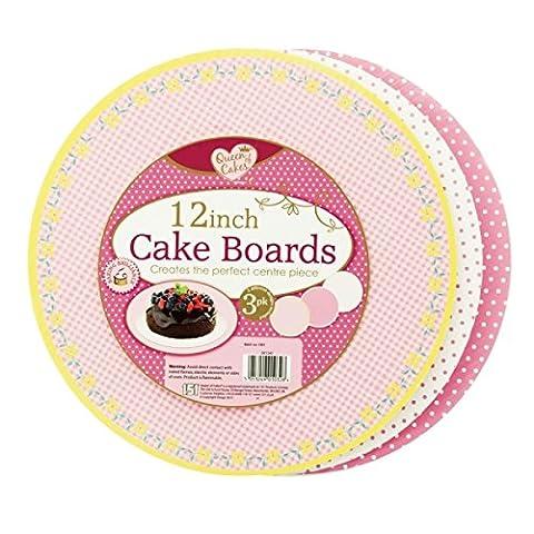 6plaques à gâteau 30,5cm 30cm/lot de 2paquets de
