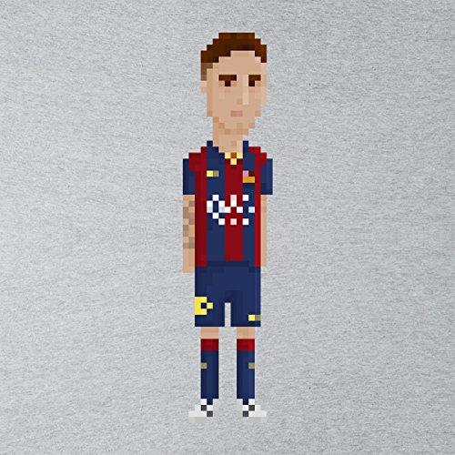 Pixel Lionel Messi Men's Vest Heather Grey