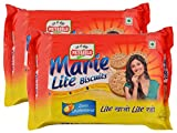 #7: Big Bazaar Combo - Priyagold Biscuits Marie Lite, 300g (Buy 1 Get 1, 2 Pieces) Promo Pack