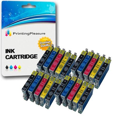 20 XL Compatibili Epson T0611-T0614 (T0615) Cartucce d'inchiostro per Stylus