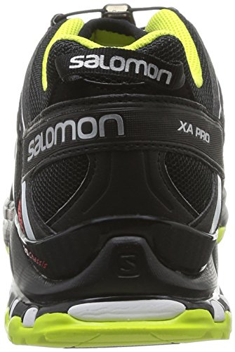 Salomon  Xa Pro 3D, Baskets pour homme rouge * Noir - Schwarz (Quick/Black/Gecko Green)
