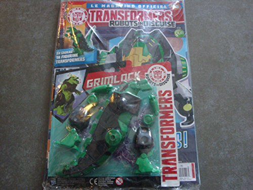 TRANSFORMERS ROBOTS IN DISGUISE LE MAG OFFICIEL N°5 !! AUTOBOTS : AGENTS INFILTRES ! EN CADEAU : TA FIGURINE TRANSFORMERS GRIMLOCK
