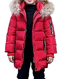 Phorecys niño Abrigo de Invierno con Capucha Forro niño Parka Invierno Nieve