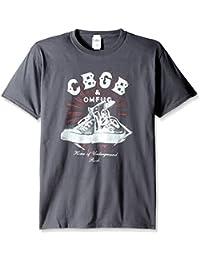 Trevco–Camiseta CBGB Logo Zapatillas de los hombres