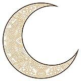 Wandtattoo Orient Wandsticker Mondsichel mit eleganten Ornamenten orientalische