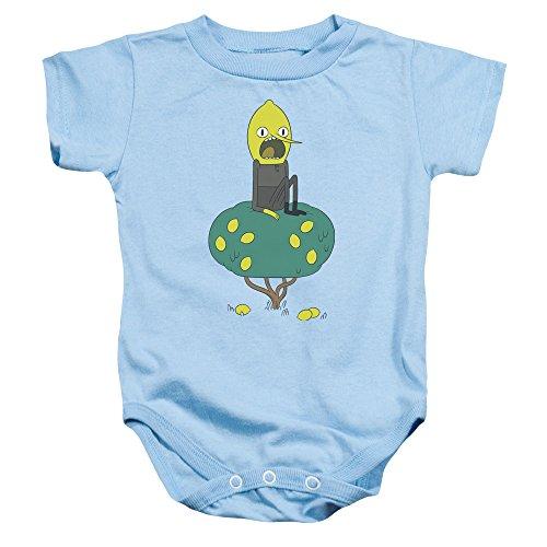 Adventure Time - - Kleinkind Lemongrab-Strampler, 6 Months, Light Blue