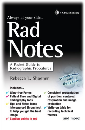Rad Notes A Pocket Guide to Radiographic Procedures (Daviss Notes ...