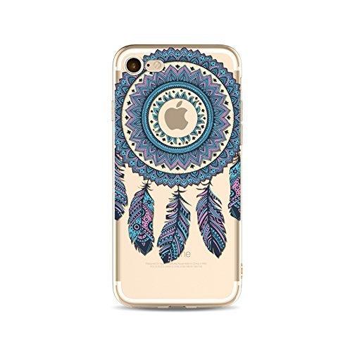 Coque iPhone 6 6s Housse étui-Case Transparent Liquid Crystal Capture de Rêve en TPU Silicone Clair,Protection Ultra Mince Premium,Coque Prime pour iPhone 6 6s-style 18 style 20