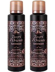 Tesori d Oriente Hammam Déodorant 150 ml - Lot de 2 1864fb327038
