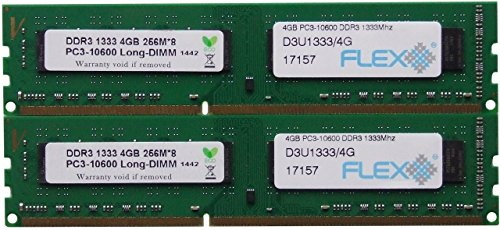 8gb-kit-2-x-4gb-240-pin-dimm-ddr3-pc3-10600udual-rank-non-ecc-ram-memory-module-by-hynix-hmt351u6cfr