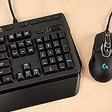 Logitech G910 Gaming Mechanische Tastatur mit RGB Orion Spectrum (Qwertz, deutsches Layout) schwarz - 8