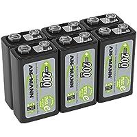Ansmann 1311 – 0016 – 590 LSD tipo de batería de 9 V, ...