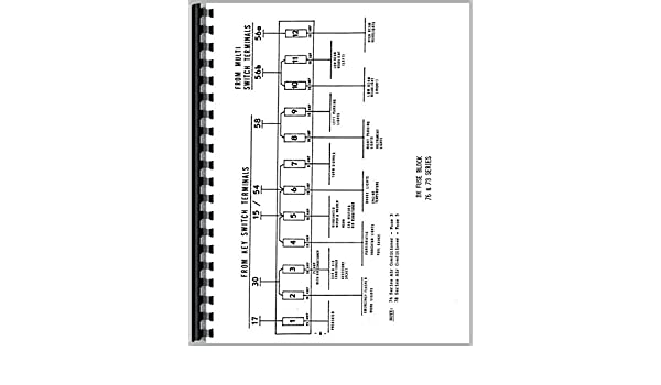 Deutz Allis DX140 Tractor Wiring Diagram Service Manual