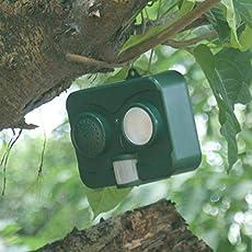 Lepakshi Solar Energy Acousto-Optic Bird Repellent Deterrent Strong Ultrasonic W
