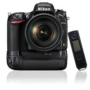 Meike MK-DR750 Built-in 2.4G sans fil Titulaire Poignées d'alimentation pour Nikon D750