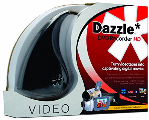 Pinnacle Dazzle DVD Recorder HD VHS to DVD Converter