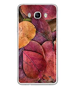 Snapdilla Designer Back Case Cover for Samsung Galaxy J5 (6) 2016 :: Samsung Galaxy J5 2016 J510F :: Samsung Galaxy J5 2016 J510Fn J510G J510Y J510M :: Samsung Galaxy J5 Duos 2016 (Season Leafs Forest Colorful Plant Background)