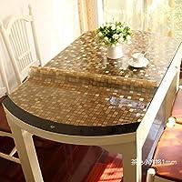 HL-PYL-mesa ovalada mesa ovalada mesa ovalada de tela manteles de plástico PVC