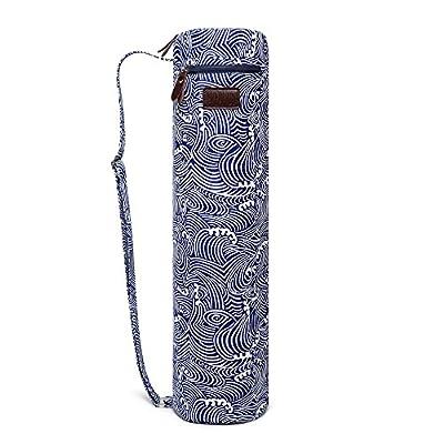 Fremous Yogamatten-Tasche und -Träger für Frauen und Männer - tragbare Multifunktionsaufbewahrungstaschen, Leinen-Yogataschen