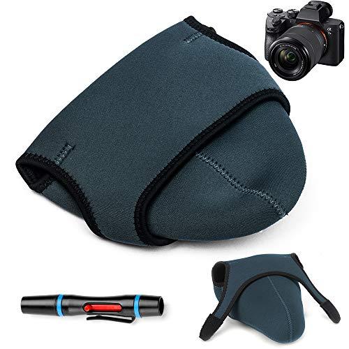 Fotover Kameratasche,weiches Neopren Reise tragen Schutzkameratasche Kompatibel mit Canon Nikon Sony Panasonic Pentax Olympus Fujifilm Single Electric/Bridge Digital Kameras (Bridge-kamera Nikon)