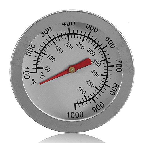 Räucherofen für den Außenbereich, 52mm,-Camping-Ofen-Thermometer zum Kochen (Glas-thermometer Zum Kochen)