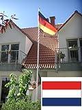 Fahnenmast Aluminium inkl. Niederlandflagge, 6,2 Meter, LILIMO ®