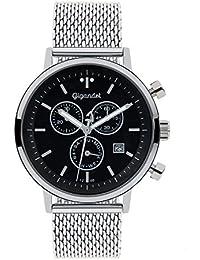 Gigandet g6 – 012 – Armbanduhr, Edelstahl-Armband, silber