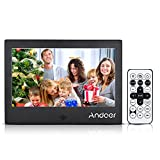 Best Andoer digital photo frame - Andoer 7INCH LED Digital Photo Frame 720P Video/Music/Calendar/Clock/TXT Review