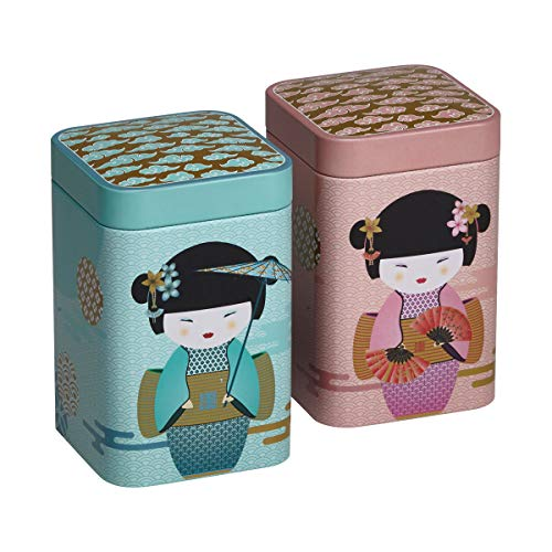 Eigenart 2er Set Dosen New Little Geisha (für ca. 100g)