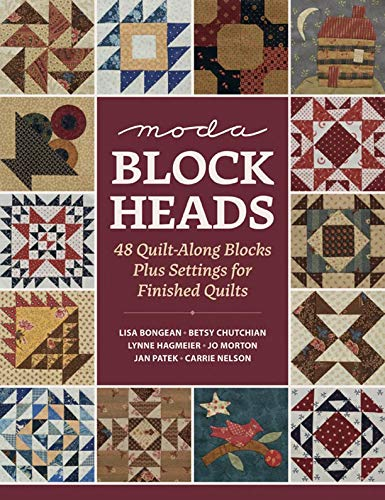 Moda Blockheads: 48 Quilt-Along Blocks Plus Settings for Finished Quilts (English Edition)