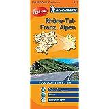 Rhonetal-Französische Alpen (Michelin Regionalkarte)