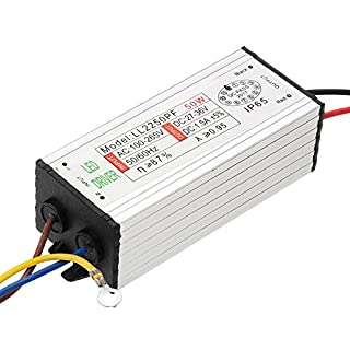 Tutoy 50W DC21-36V 1.35A Waterproof Switch Power Supply Driver Adapter