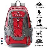 c5cc47b67a6 Camel Mochilas de escalada Packable liviano Durable mochila deportiva a  prueba de agua, para acampar