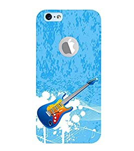 Vizagbeats Guitar Back Case Cover for Apple iPhone 6 logo cut