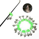 Timbre de alarma de pesca Yiitay 10 piezas TipClamp para pesca, pesca, cometa de pesca, timbre, anillo de alarma de señuelo