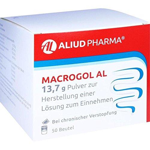 MACROGOL AL 13,7 g Plv.z.Her.e.Lsg.z.Einnehmen 50 St Pulver zur Herstellung einer Lösung zum Einnehmen
