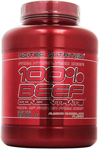 Scitec Nutrition Beef Protein Konzentrat Mandel-Schokolade, 1er Pack (1 x 2 kg)