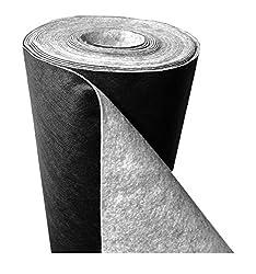 150 g/m² - Reißfestes Premium Unkrautvlies bzw. Unkrautschutzvlies: (L) 75 m x (B) 1,0 m x (H) 1,3 mm