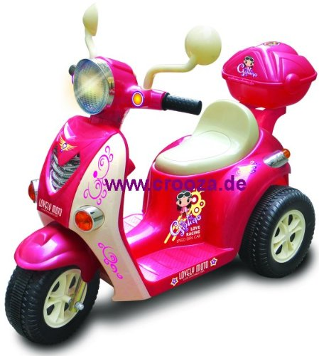 *Elektro Kinder ROLLER scooter Motorrad Auto / Elektroauto Kinderauto Kinderroller 77P*