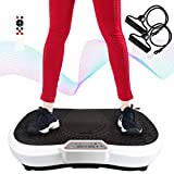 Todeco - - Weiß, 180 Stufen, Remote Control, Resistance Bands & Yoga Mat