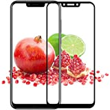 Newlike [Anti Glare] [Scratch Proof] Full Coverage 5D Tempered Glass for Huawei Honor Play- Black
