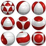 Marusenko esfera (rojo/blanco)