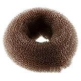 Meisijia 10pcs delle Ragazze delle Donne della Ciambella dei Capelli del creatore del panino Chignon Shaper Ciambelle dell'anello Styler Anello Stile Ex