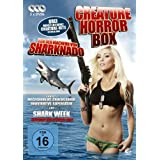 Die Creature Horror Box - Boxset mit 3 Creature-Horrorfilmen: Megashark VS Crocosaurus, Dinocroc VS Supergator, Shark Week