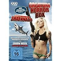 Die Creature Horror Box - Boxset mit 3 Creature-Horrorfilmen: Megashark VS Crocosaurus, Dinocroc VS Supergator, Shark Week