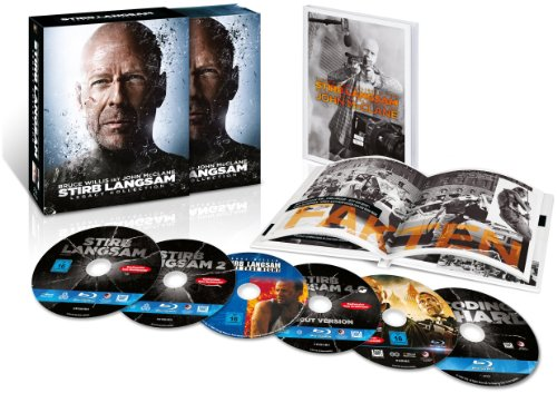 Stirb Langsam 1-5 Legacy Collection (Limited Edition exklusiv bei Amazon.de) [Blu-ray] (Amazon Langsam)