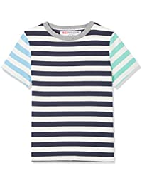 RED WAGON Stripe T-Shirt Bambino