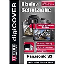 digiCOVER - Pellicola protettiva display LCD per Panasonic DMC-S3