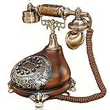 XINYUANJIAFANG 60Er Classic General Post Office Gestylte Wähl Karte: Designer Retro Telephone Vintage Telefon Classic Schreibtisch Telefon
