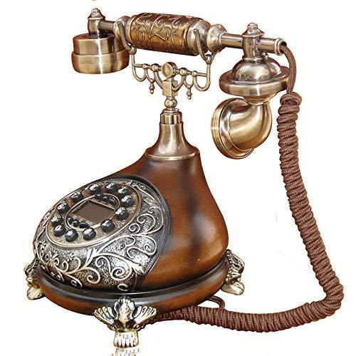 SISHUINIANHUA 60Er Classic General Post Office Gestylte Wähl Karte: Designer Retro Telephone Vintage Telefon Classic Schreibtisch Telefon